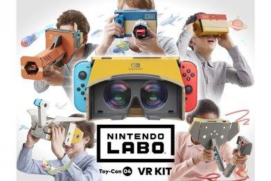 nintendo labo vr kit review good bad score