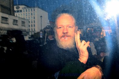 Julian Assange Westminster Magistrates London