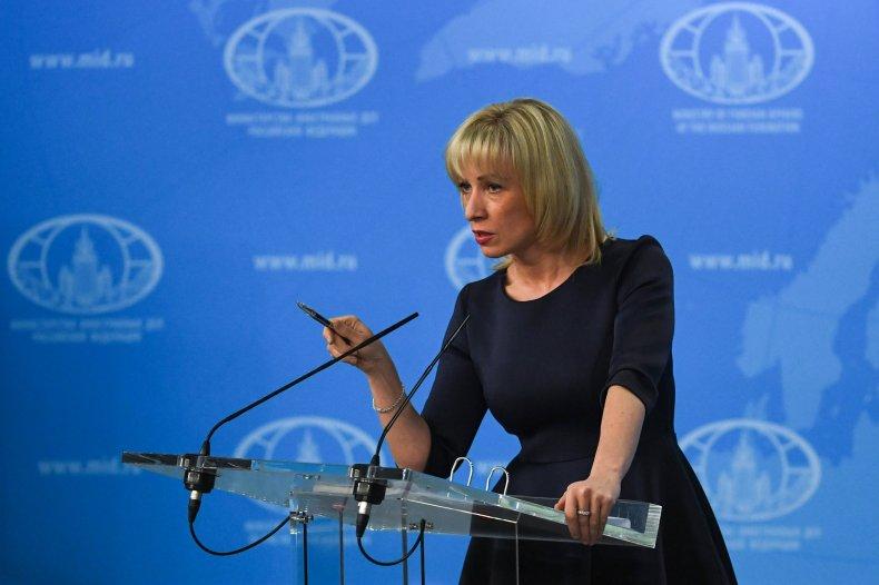 Maria Zakharova Julian Assange WikiLeaks arrest revenge