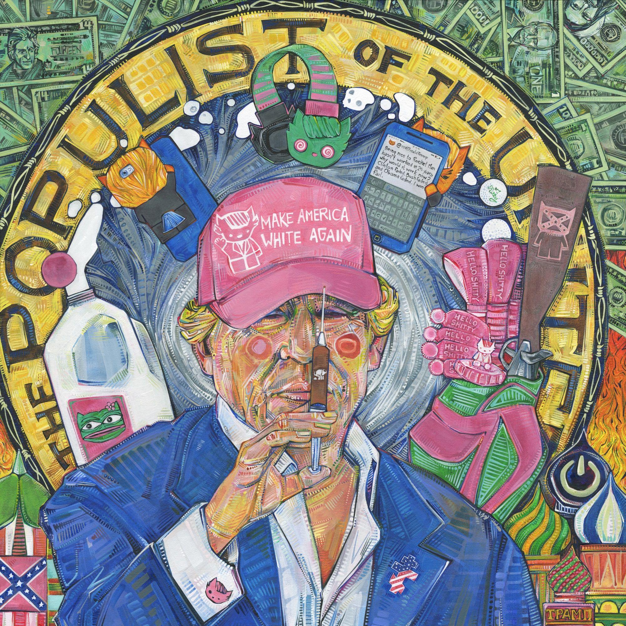 Gwenn Seemel Donald Trump art