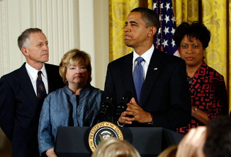 Louvon Byrd Harris Obama