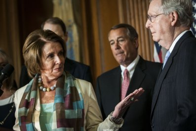 Nancy Pelosi, Mitch McConnell, referendum, for, people, socialism