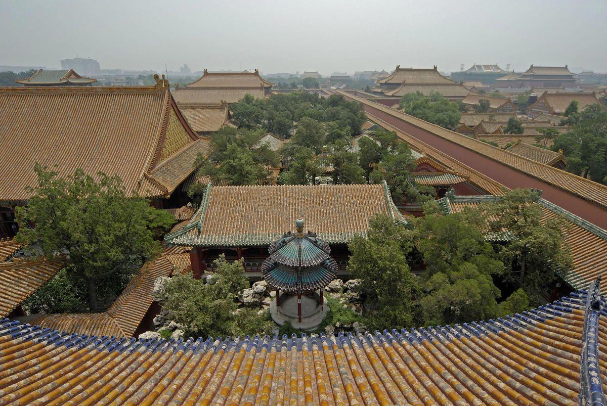 Qianlong Garden forbidden city china
