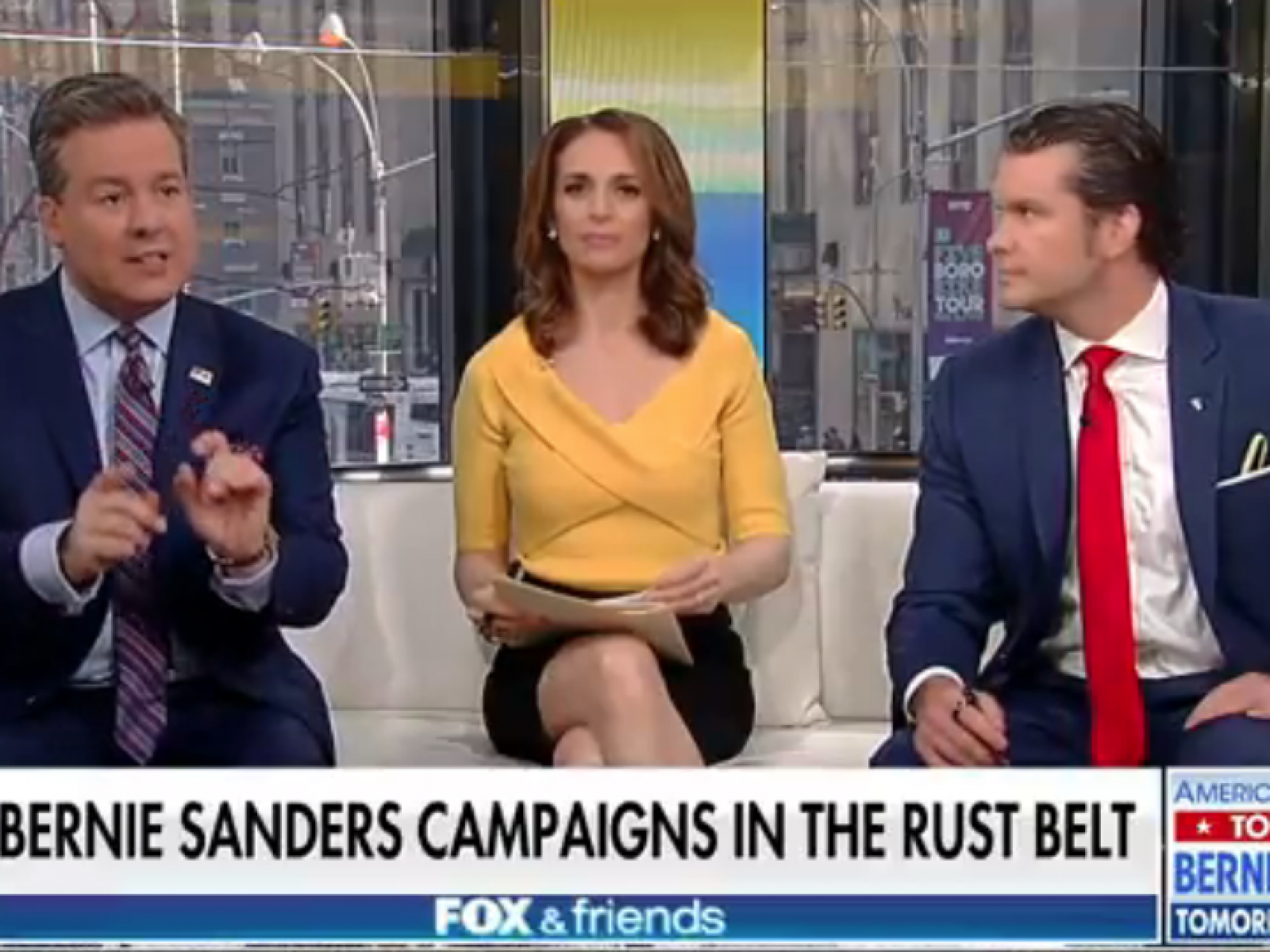 Fox News Hosts Blast Bernie Sanders Successful Book Sales