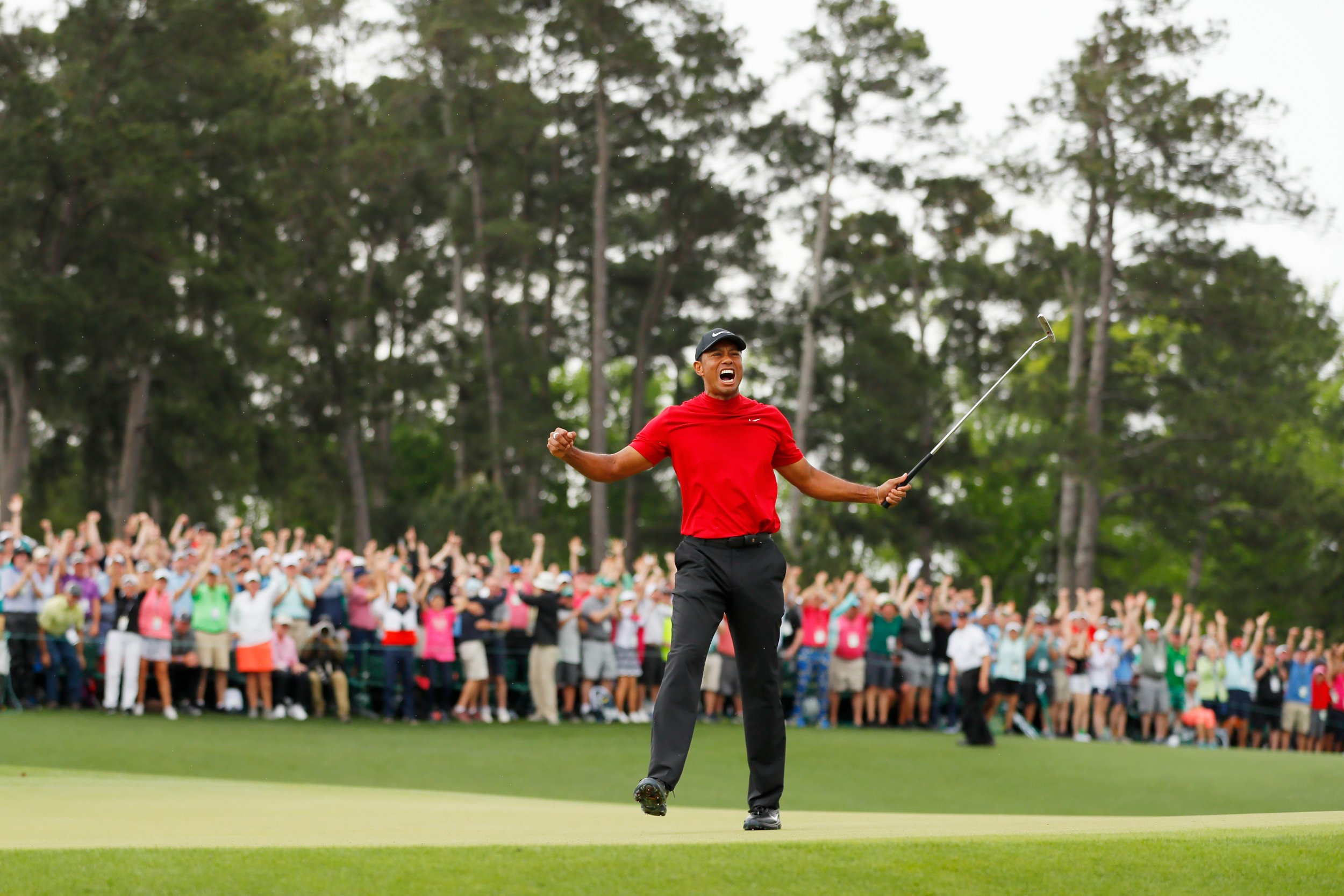 Bettor Wins $1.19 Million On Tiger Woods Winning The Masters