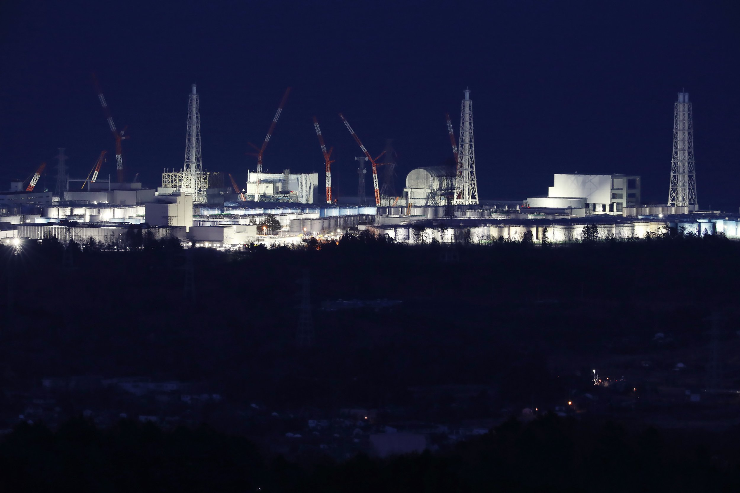 Fukushima Daiichi nuclear power plant, Japan