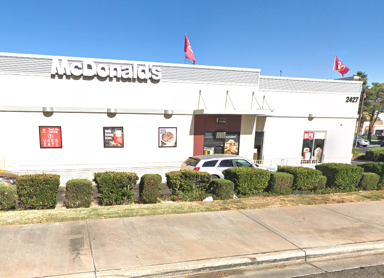 McDonald's in Palmdale California