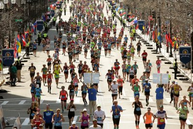 boston, marathon, winners, results, live, updates