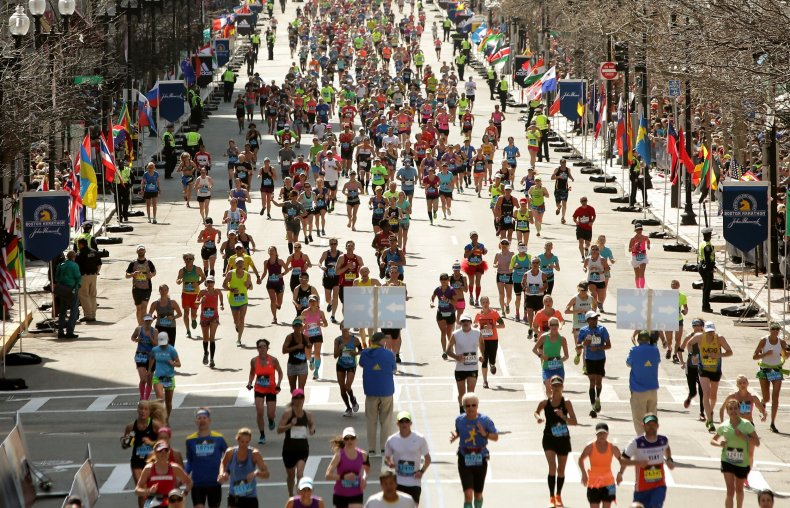 boston, marathon, winners, results, live, updates