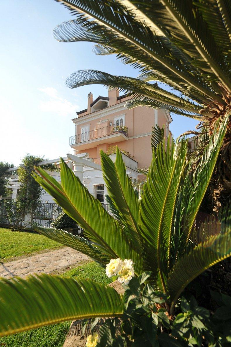 Don Alfonso- Dettaglio giardino