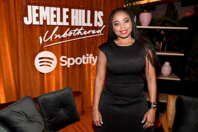 'Jemele Hill Talks 'Unbothered' Podcast Premieres on Spotify