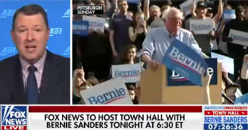 bernie sanders fox news