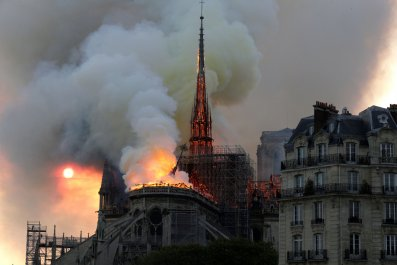 notre, dame, cathedral, fire, cause,
