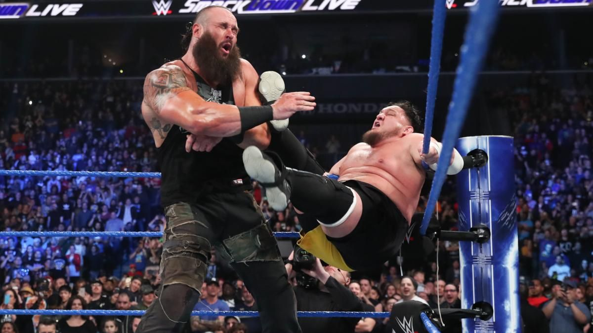 samoa joe and braun strowman smackdown live superstar shake up