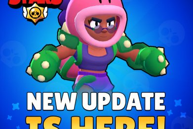 brawl strars new update colored name changes new brawler rosa