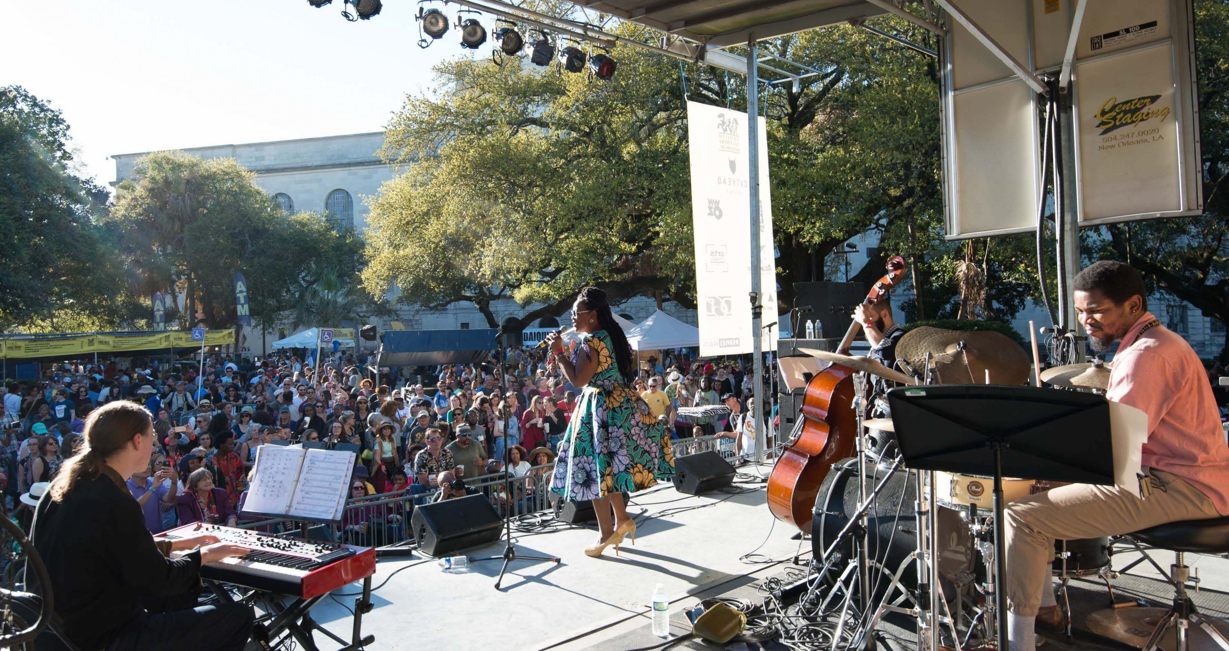 Quiana Lynell at Congo Square Rhythms Fest