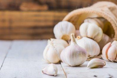 Garlic Getty Images