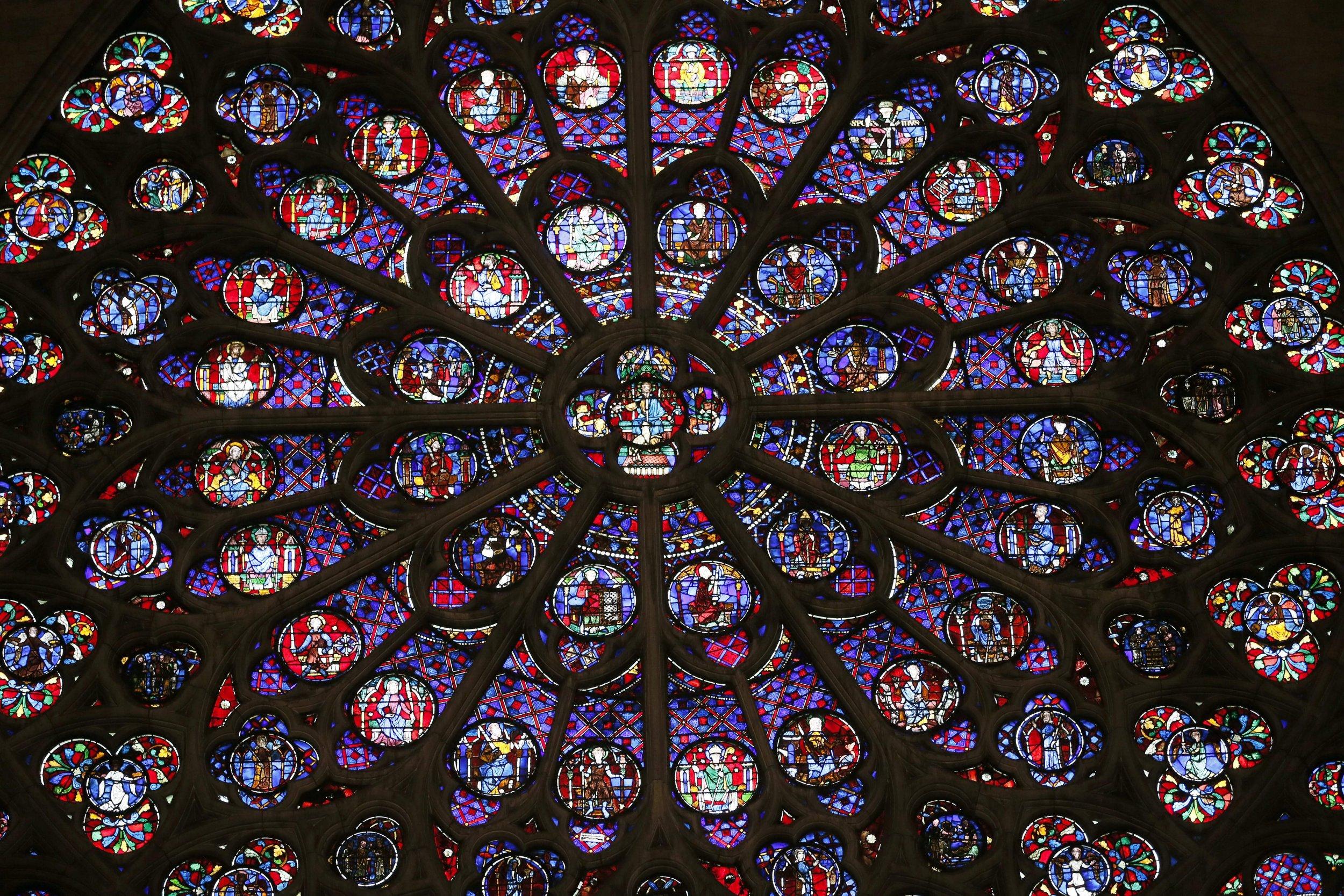 Notre Dame, Rose Windows