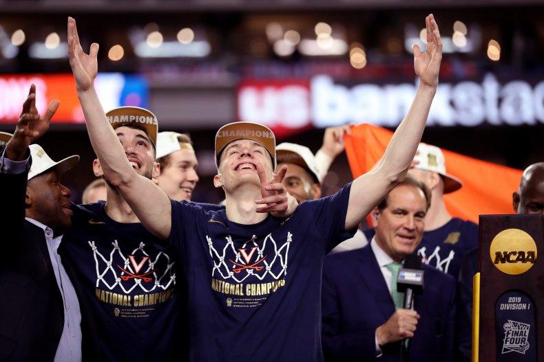 university of virginia uva basketball cavaliers white house visit ncca victory