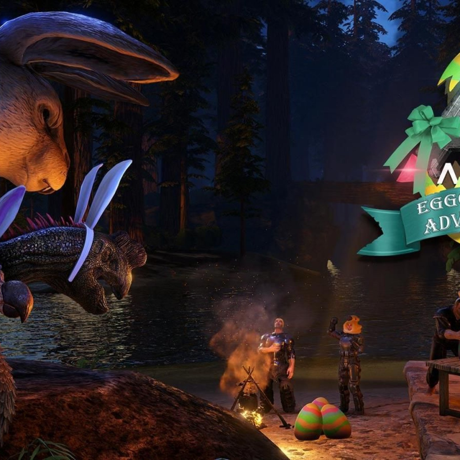 ARK' Update 1 92 Adds Eggcellent Adventure for Easter on PS4