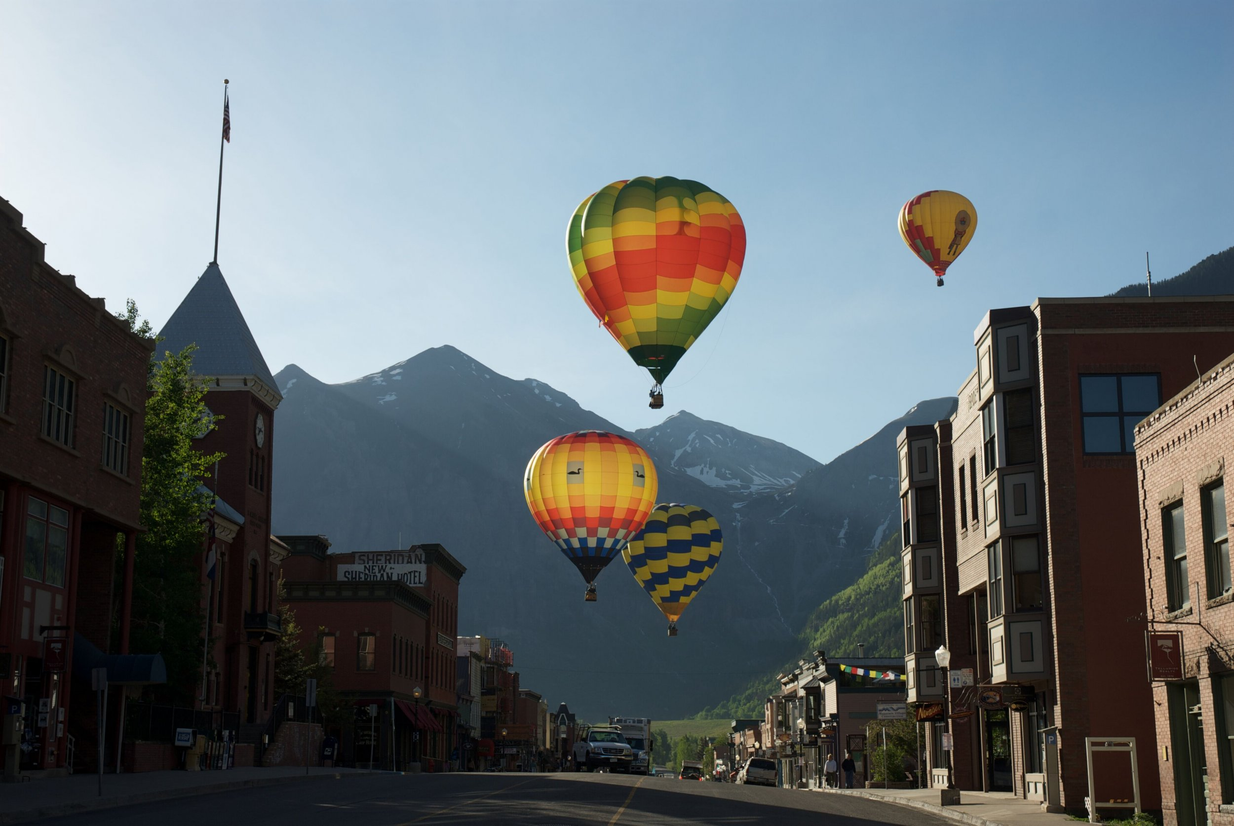 Telluride hot air balloons