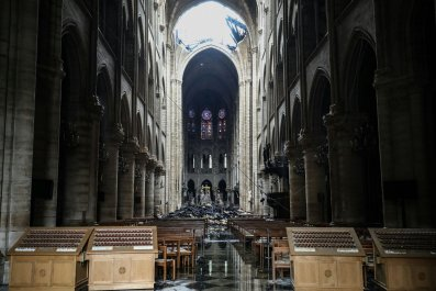 notre dame university notre dame cathedral fire restoration