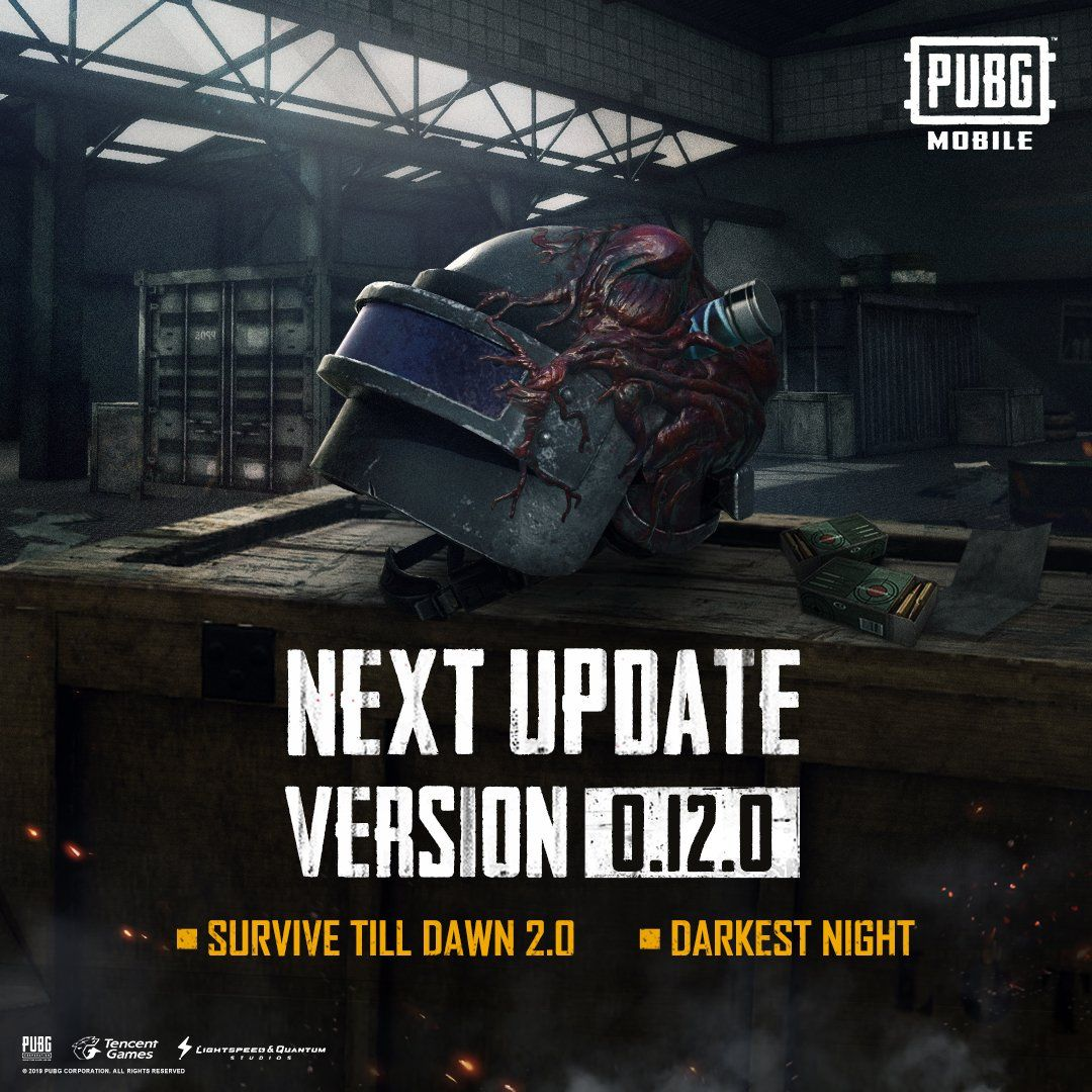 pubg mobile update 0120 patch notes