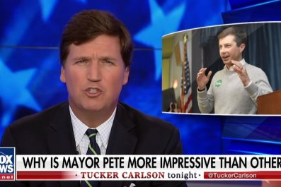 Fox News Tucker Carlson Pete Buttigieg