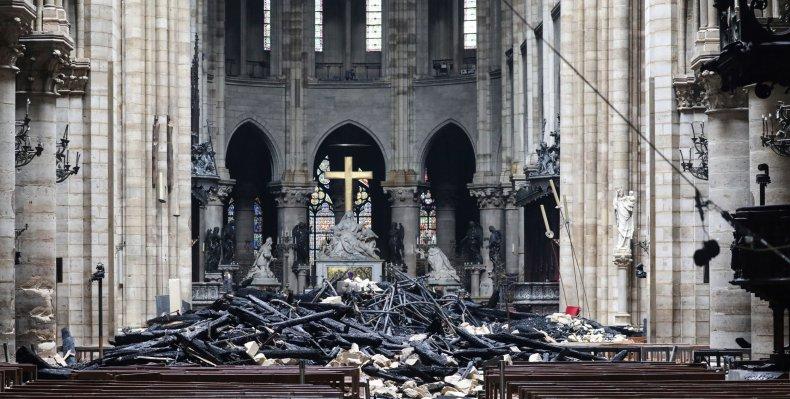 Lou Dobbs Notre Dame Fire Arson