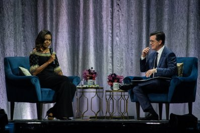 Michelle Obama Stephen Colbert Fox News Hannity
