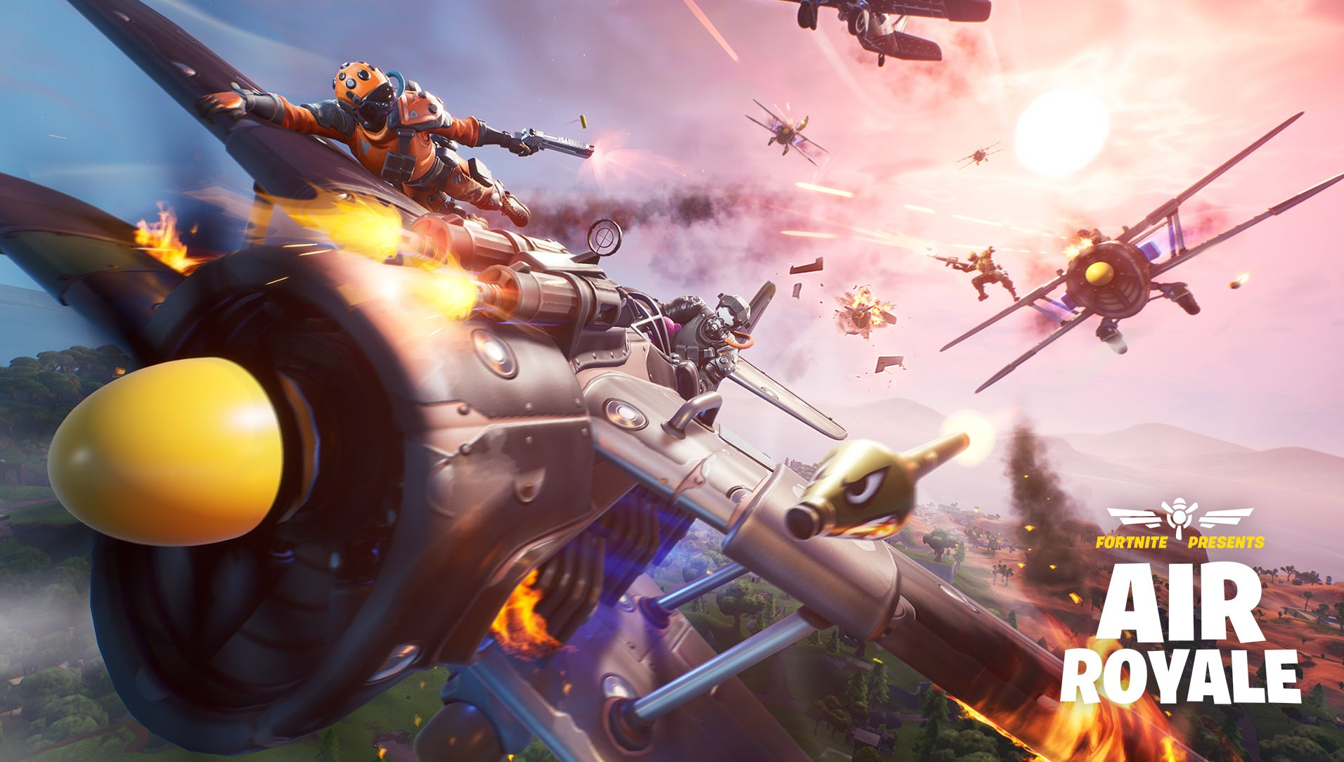 Fortnite Update 8 40 Adds Air Royale Egg Launcher New Rifle