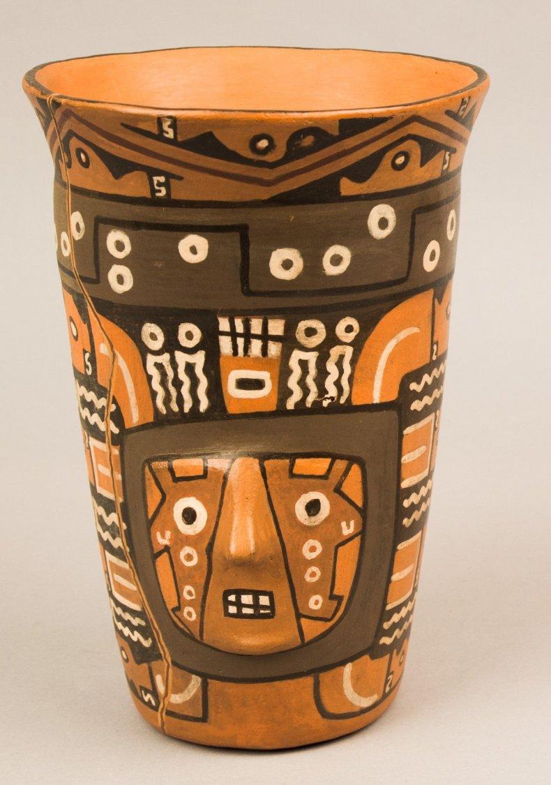 ancient beer vessel