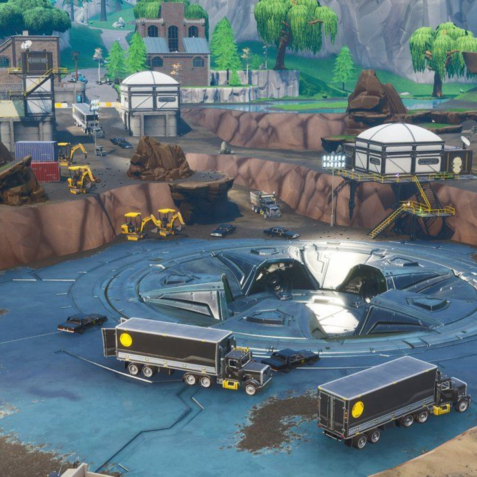 Fortnite' Loot Lake Event Leak: Giant Laser Uncovered by
