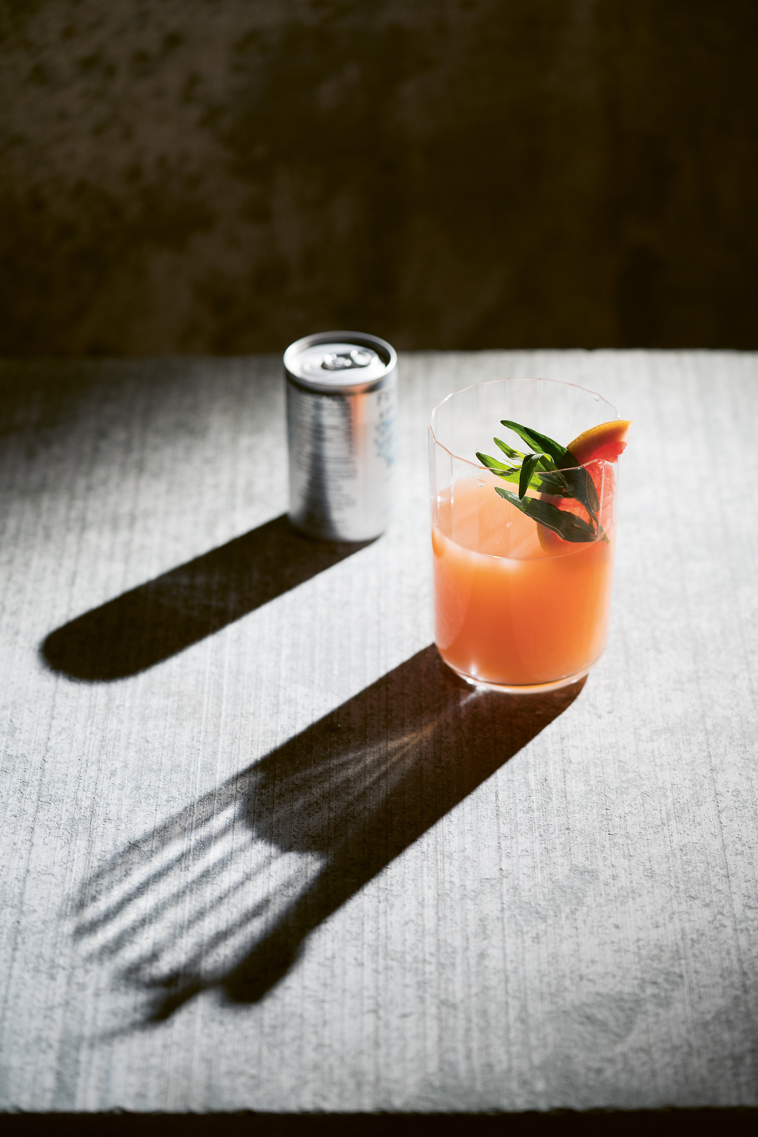 The Big Book of Gin Grapefruit & Tarragon Collins pg 121 photo credit Jacqui Melville