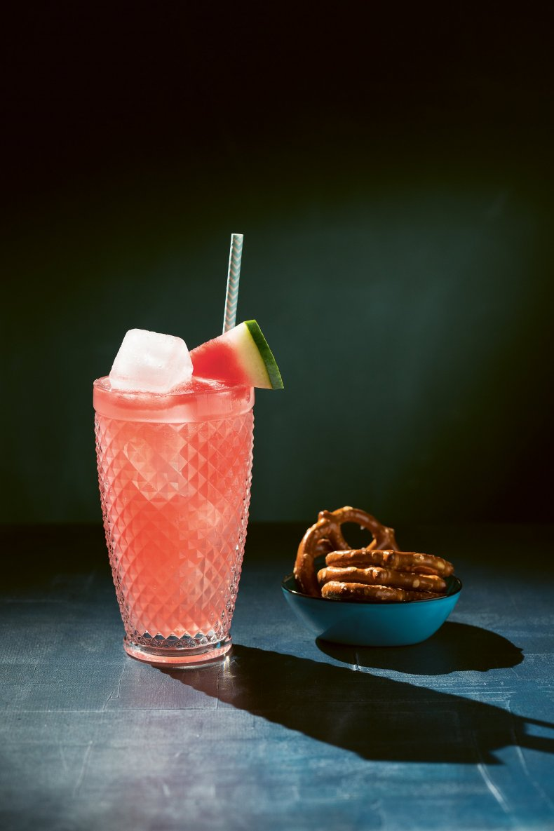 The Big Book of Gin Watermelon G&T photo credit Jacqui Melville pg 179