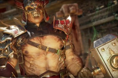 shao kahn gameplay trailer fatality fatal blow mortal kombat 11