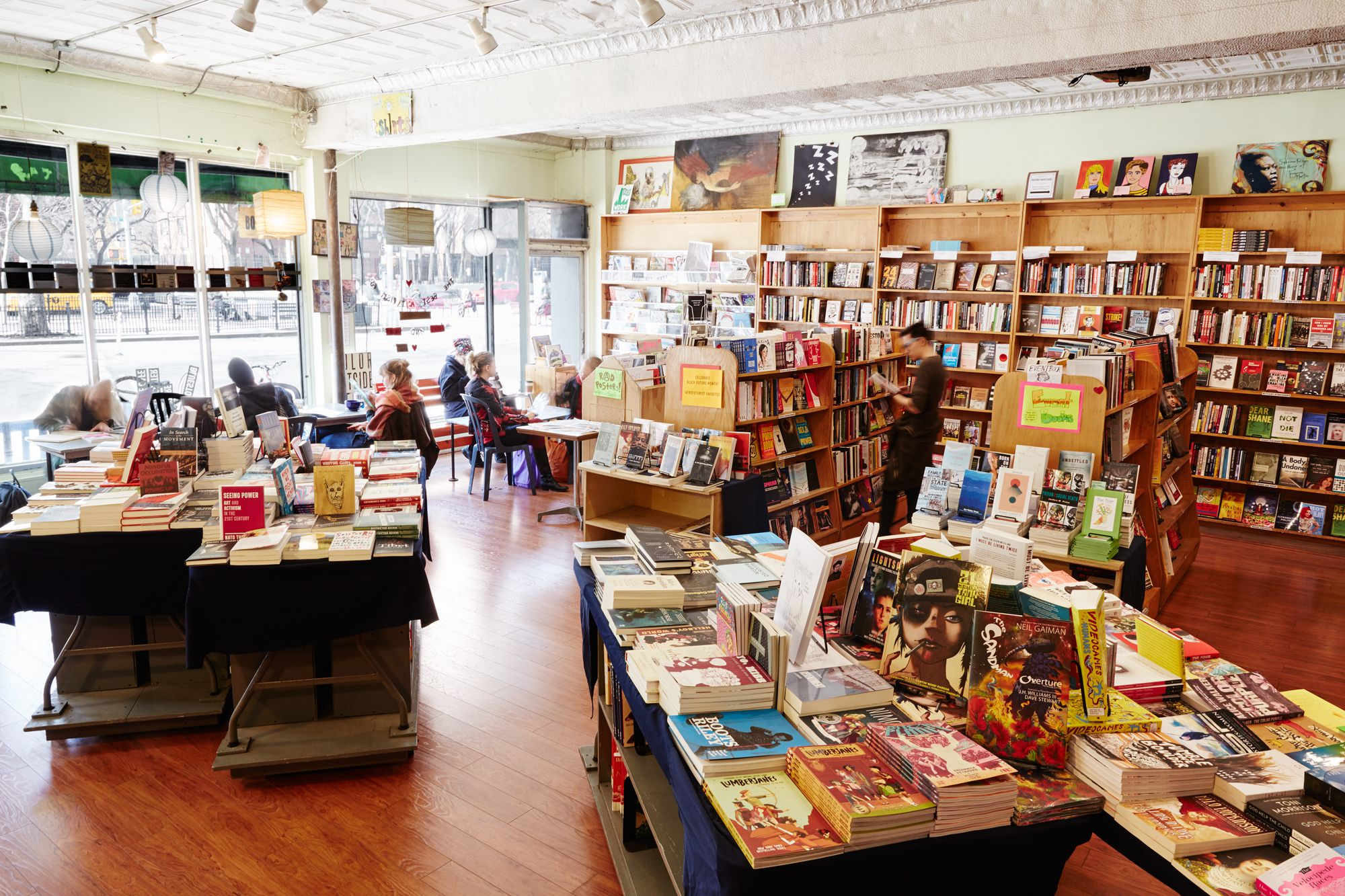 Best Bookstores in New York City - Blue Stockings