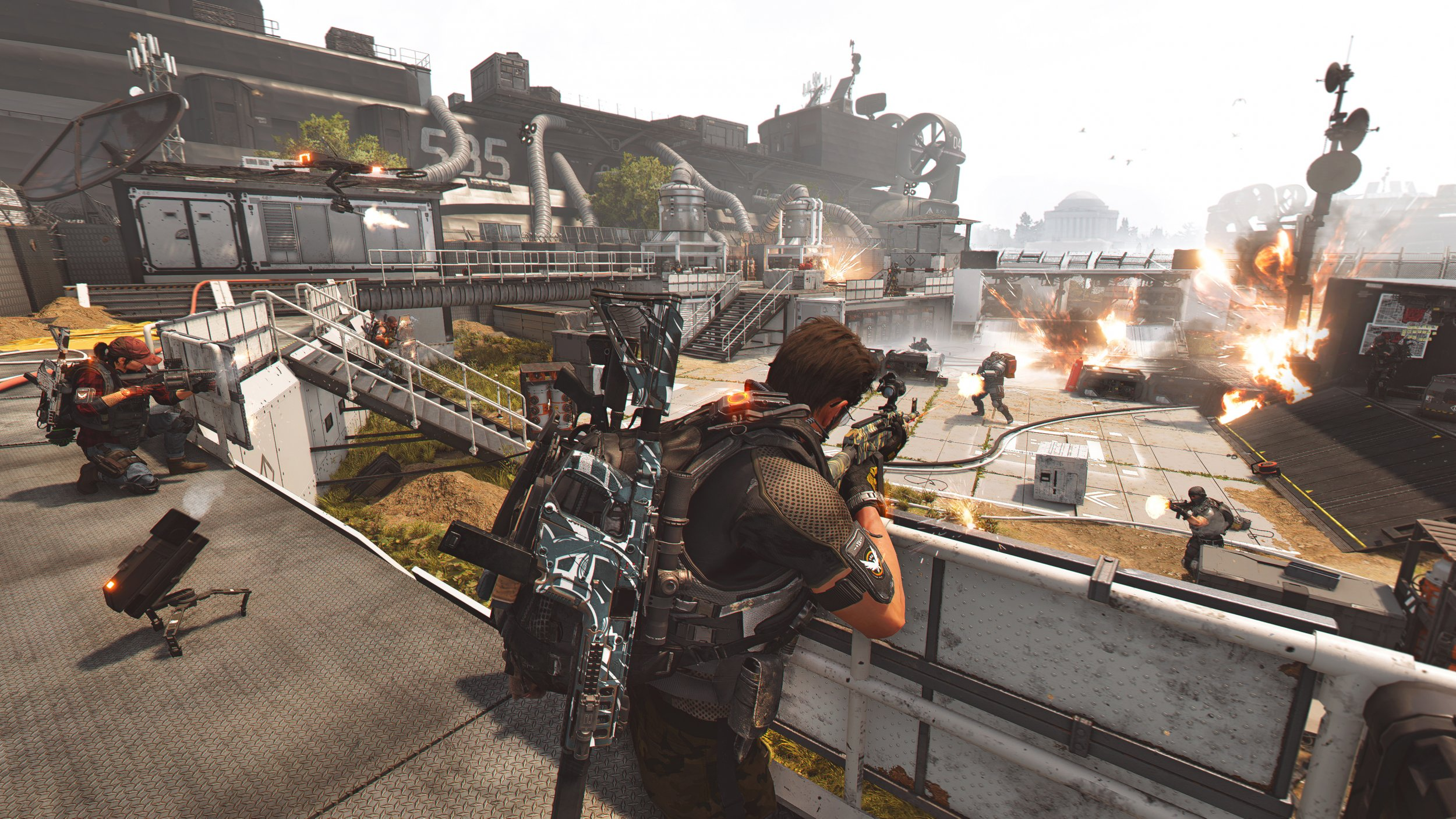 Division 2 update patch notes tidal basin