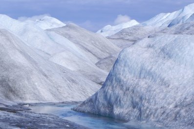 greenland ice sheet stock getty