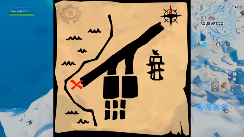 fortnite treasure map signpost paradise map picture