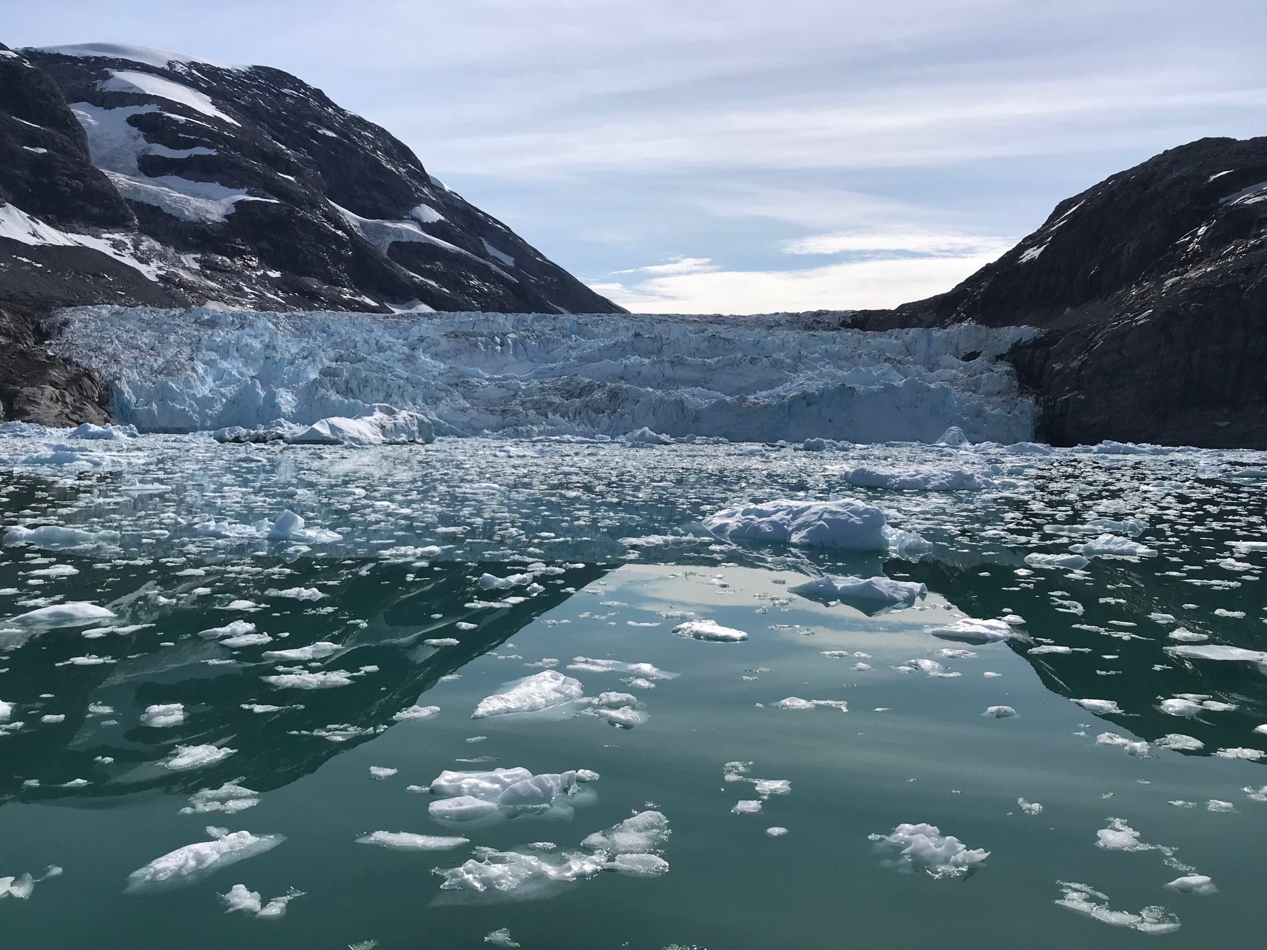Glaciology: Researchers calculate decades of 'scary' Greenland ice melting