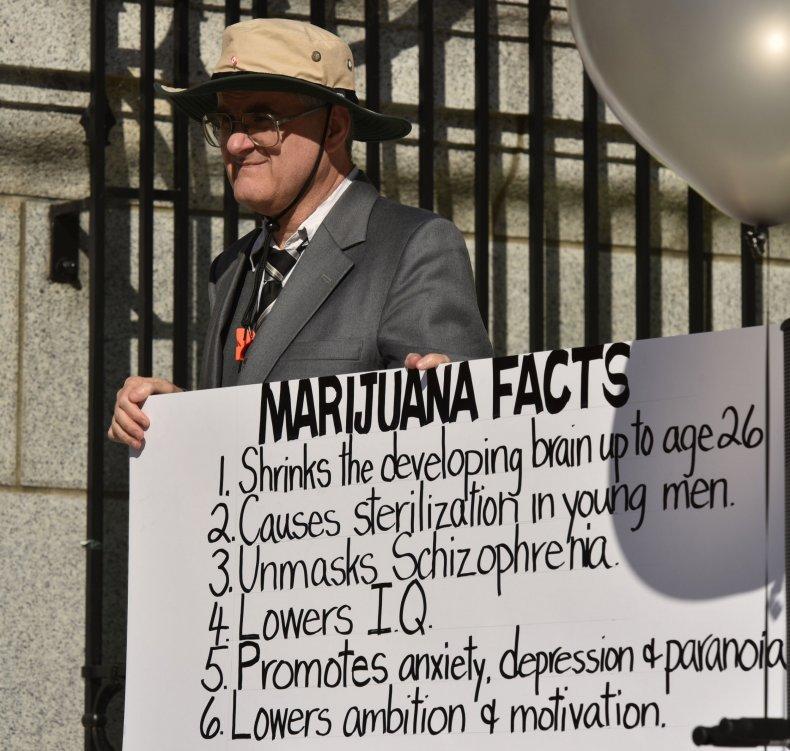 Canada Marijuana Legalization Protest