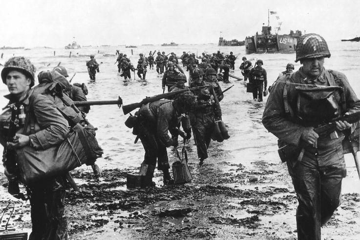 normandy beach d-day