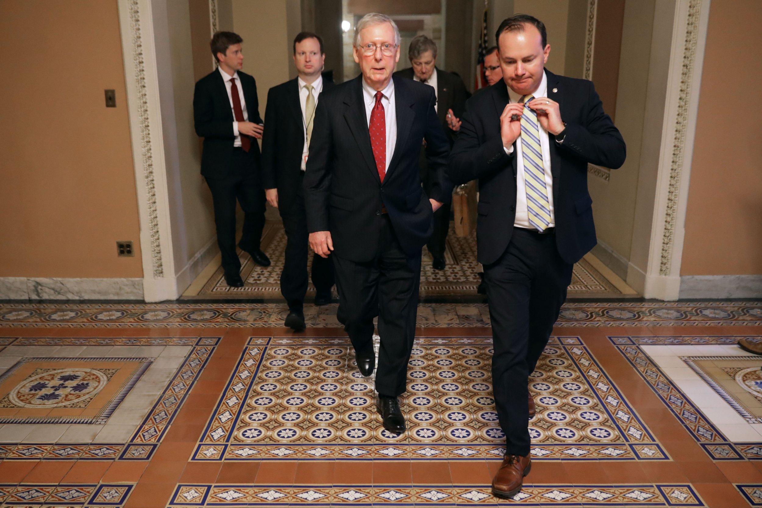 Republicans, Trump, won't, fire, Robert, Mueller, silent