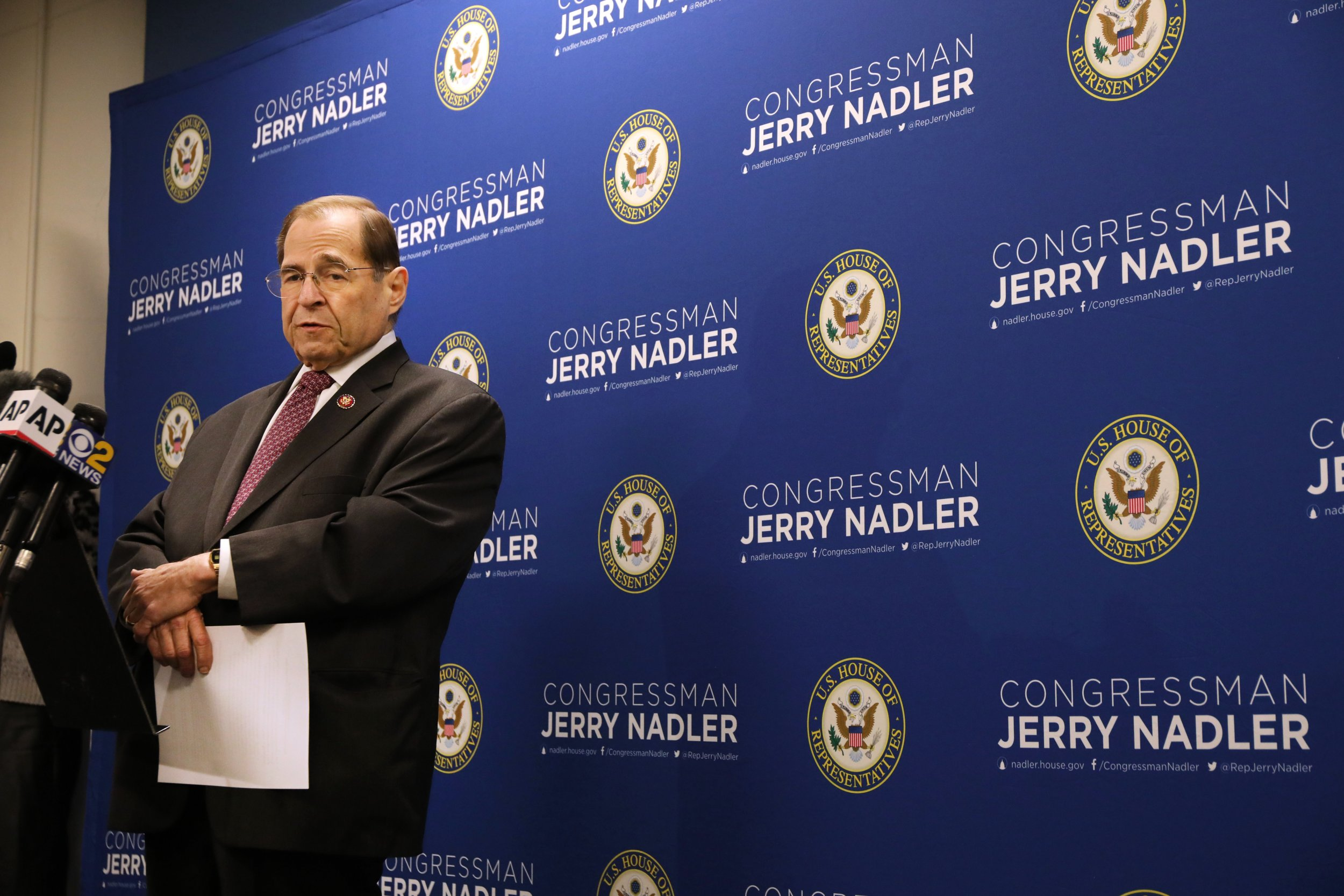 Jerry Nadler, Judiciary Committee, subpoenas, Mueller report