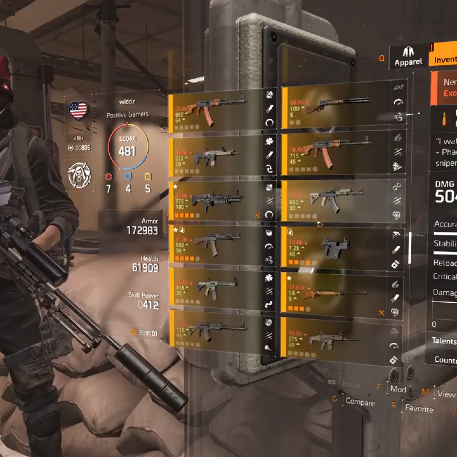Division 2' Nemesis Guide: How to Get Blueprint & Parts for