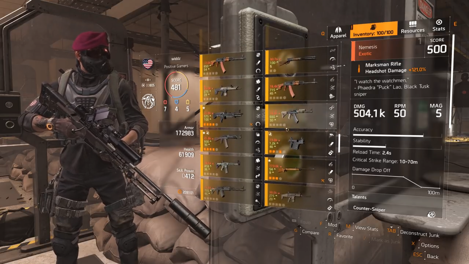 Division 2' Nemesis Guide: How to Get Blueprint & Parts for the