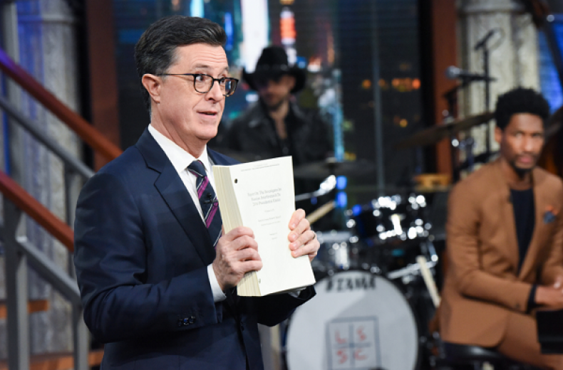 Stephen Colbert, Seth Meyers and More Late-Night Hosts Take on Mueller's Report