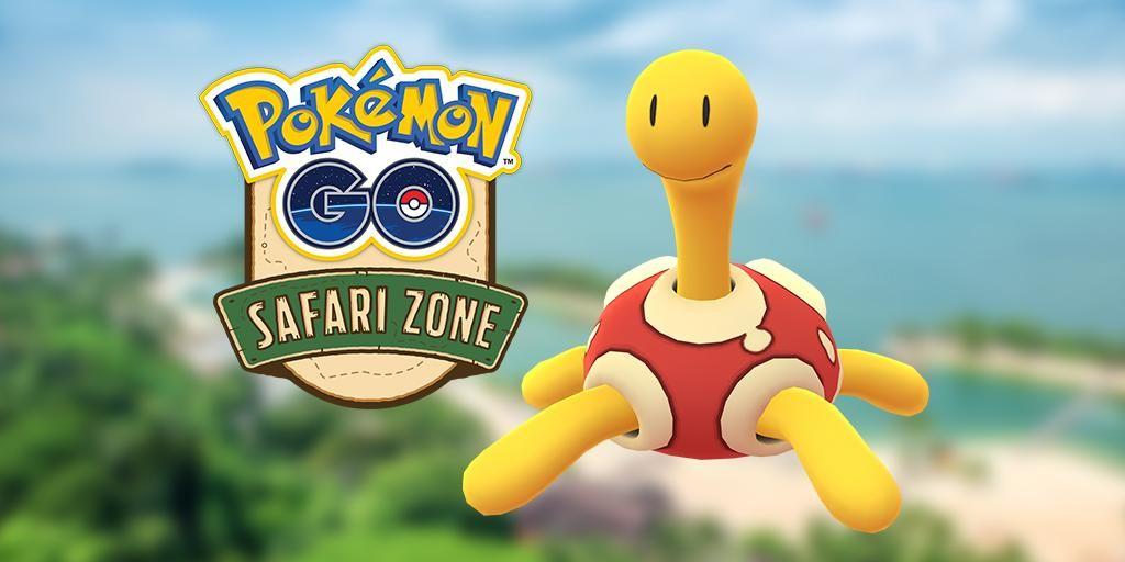 pokemon go shiny shuckle start time safari zone