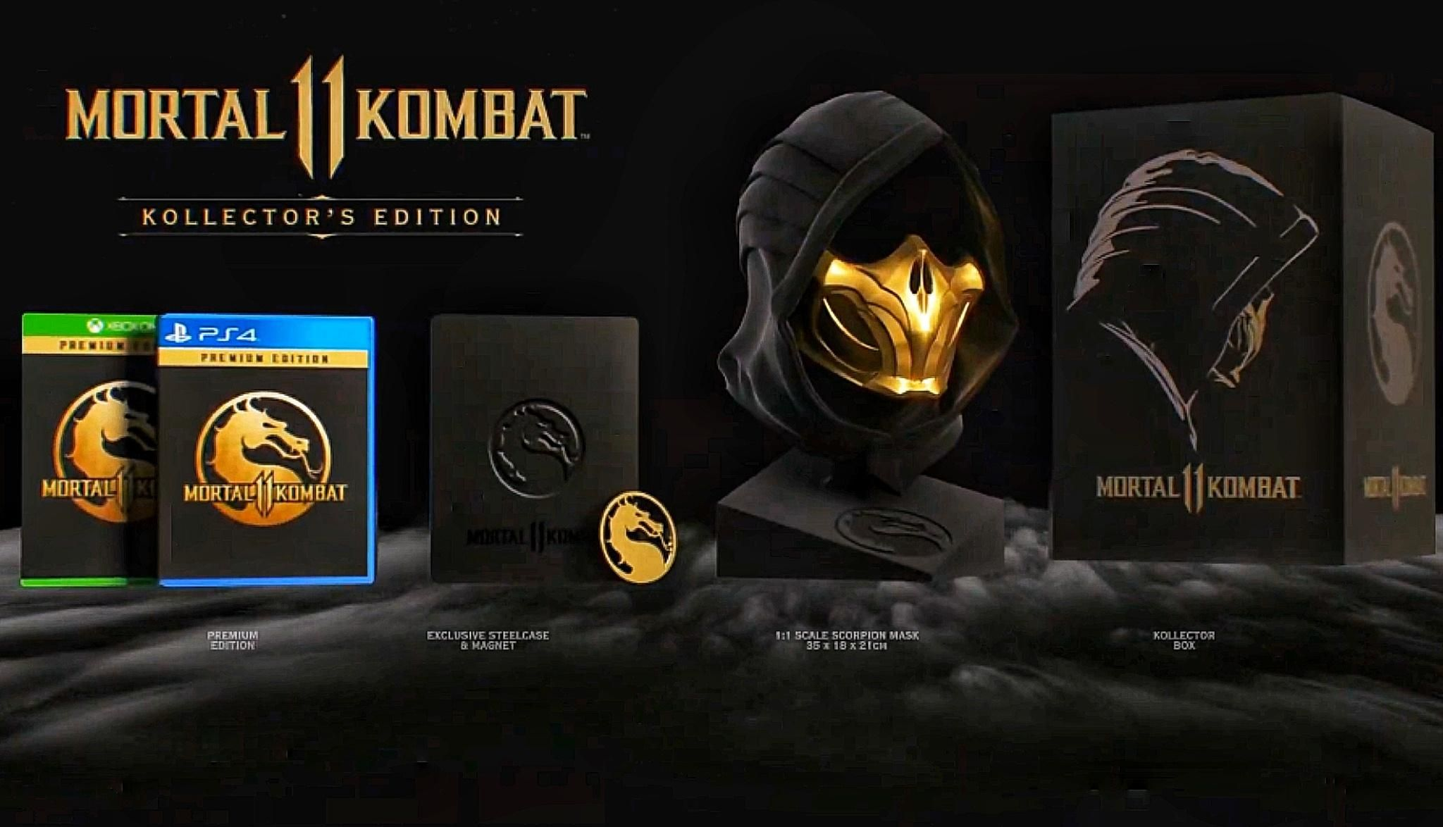 mortal kombat 11 special edition kollect'rs komplete premium